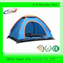 Высокое Качество Открытый Семьи 2-4 Человек Палатки Кемпинга