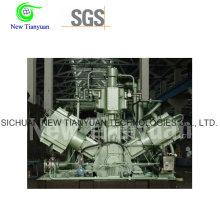 Enfriamiento de agua 5 etapas Compresor CNG de gas natural