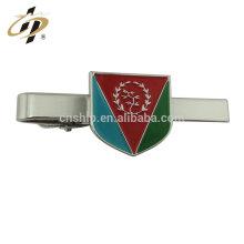 2018 venda quente logotipo presente de negócios de bronze personalizado clipe de gravata de metal com caixa