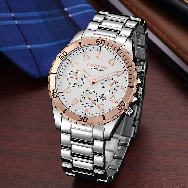 curren business man wrist bulk watch custom logo