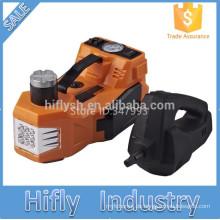 12V DC 3.0T (6600lb) elektrische hydraulische Boden Jack Reifen Inflator Pumpe und LED Taschenlampe 3 in 1 Set Elektro Schlagschrauber