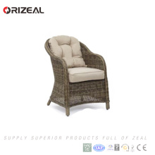 Best cheap simple outdoor furniture rattan sofa set for restaurant furniture