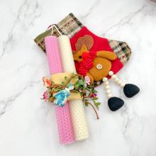 neue Produktkerze für den Weihnachtsfeiertag