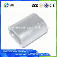 Pipe Wire Rope Galvanized Oval Sleeve