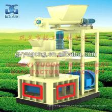 Yugong marca aserrín / pellet de madera que hace la máquina popular en el mercado de ultramar