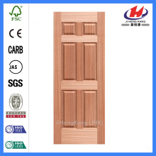 JHK-006 Proyecto interno Wood Sapele Door 6 Panel
