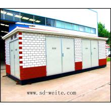 La subestación europea de transformadores tipo caja para la fuente de alimentación