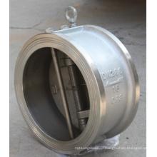 China Fábrica Wafer Dual Plate 300lbs Válvula de verificação