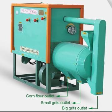Equipamento pequeno de processamento de farinha de milho