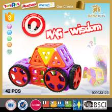 Presente de Natal novos produtos 2016 produto inovador blocos magnéticos 3d puzzle diy brinquedo