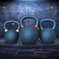 Tanie Fitness Powder Coated Kettlebell