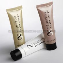 Plastic Cosmetic Soft Flat Tube