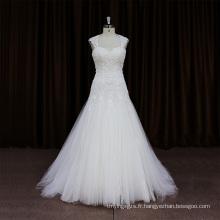 Robe de mariée fleur fendue sexy noire