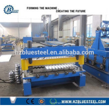 Roof Plate And Wall Panel Roll Forming Machine, Corrugated Roofing Sheet Making Machine