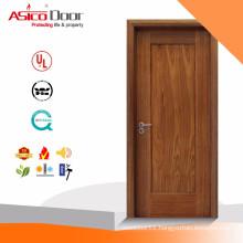 North American Mahogany wood veneer MDF 2 panel shaker door