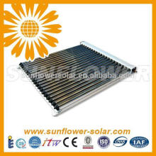 Split pressurized solar air heater with SOLAR KEYMARK & SRCC