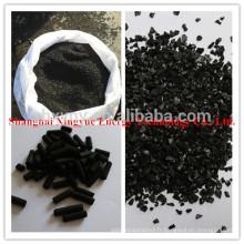 fabricant de coques de noix de coco charbon de bois charbon actif pour l'adsorption d'or
