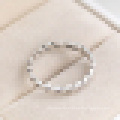 Mulheres 925 Sterling Silver Ring Valentine`s Day Presente