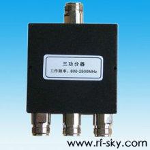 Divisor do hdmi do poder superior do rf da maneira de 100W poder 400-800MHz 2