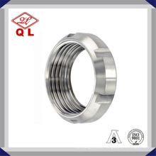 Stainless Steel Sanitary Pipe Fitting Round Nut