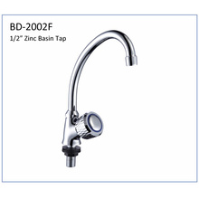 Bd2002f Single Knob Zinc Body Tap with Spout