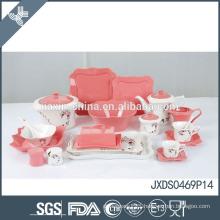 sweet lower price super white porcelain dinner sets