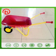 WB0101 matel tray wheel barrow toy for children kid's wheelbarrow