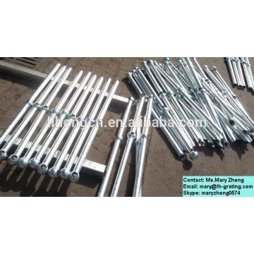 Puntales industriales de acero galvanizado en caliente