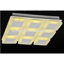 LED lámpara de techo de estrellas con la garantía de 3 años! La Plaza de moda salón lámpara led luz de techo