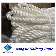 Polypropylen, Polyester mischte drei Stränge Seil Festmacher Seil