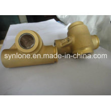 Raccord de valve d'usinage en alliage de zinc
