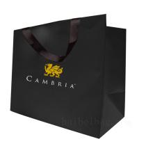 Gewohnheit Kraftpapier Geschenk Einkaufstasche für Kleidungsstück Verpackung