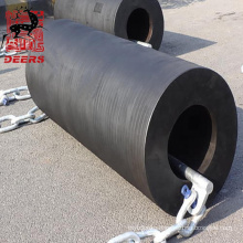 Deers marine equipment cylinder rubber fender with id 550mm