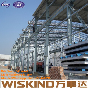 Kundengebundene Stahlkonstruktion / Lager-Werkstatt-Gebäude / Stahlkonstruktion