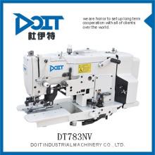 Surjeteuse industrielle bouton droit holing machine à coudre DT783NV