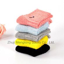 Calcetines de algodón niños Terry especial amortiguador fuera sin el lazo de hilo interior bueno para los pies