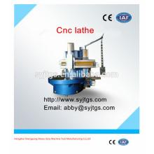 De alta velocidad usado cnc máquina de torno precio de la máquina para la venta