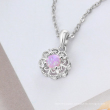 Opal Stone High Quality Popular Silver Jewelry Opal Pendant for Women