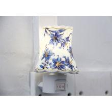 50 - 60hz Blue Flower 0.5w 30lm Led Night Light Bulbs With 50, 000 Hs Lifespan