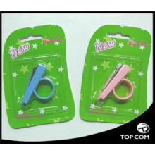 клипер ногтя младенца, симпатичные клиперы ногтя младенца, клиперы ногтя безопасности розового кольца