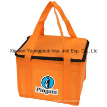 Custom Printed Non-Woven Insulated Chiller Bag for Lunch