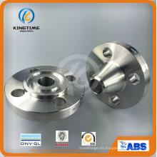 ASTM A182 ANSI B16.5 304L 316L Fundición de reborde de acero inoxidable Wn brida (KT0340)