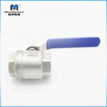 Válvulas de bola de precio por encargo de fábrica de China 4 pulgadas
