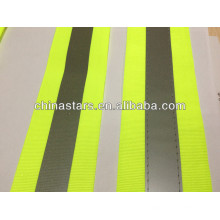 fluorescent reflective webbing tape for bags