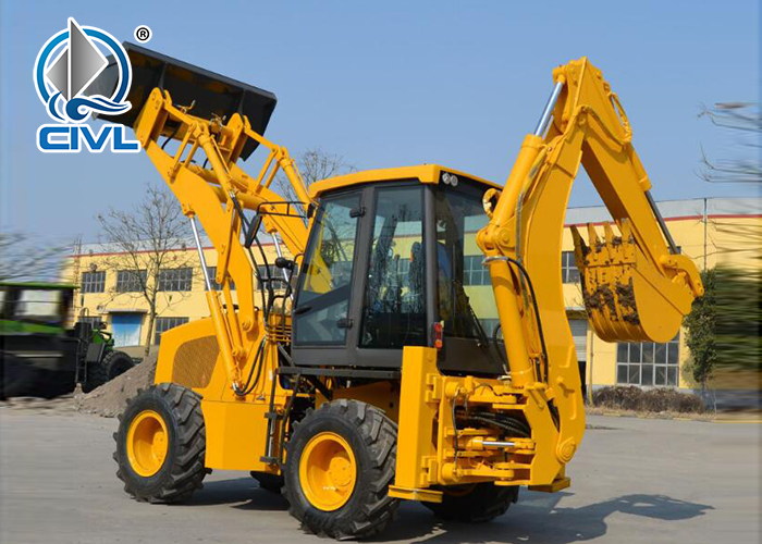 Wz30 25 Backhoe Loader 5