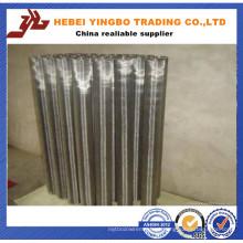 Malha de arame de aço inoxidável de alta temperatura