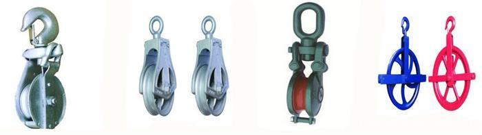 pulley block bearings
