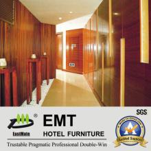 Высококлассные Общественные площади отеля Деревянные стеновые панели (EMT-F1203)