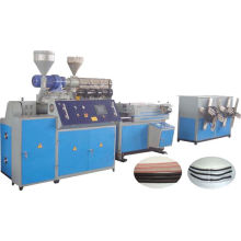 PE PVC PA Single-Wall Corrugated Pipe Production Line