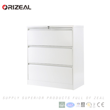 Orizeal 3 Drawer Vertical Lateral Filing Cabinet with Anti Titled Lock(OZ-OSC032)